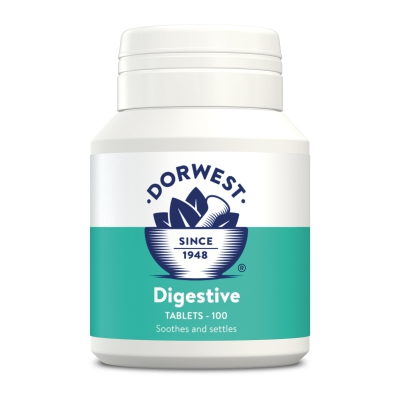 Digestive Tablets For Dogs And Cats - 100 Tablets