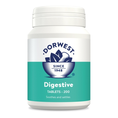 Digestive Tablets For Dogs And Cats - 200 Tablets