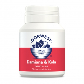 Damiana & Kola Tablets For Dogs And Cats