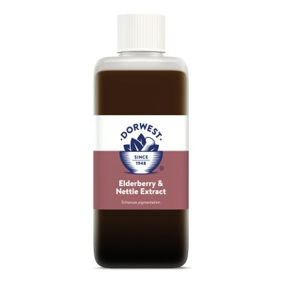 Elderberry & Nettle Extract For Dogs And Cats - 125ml