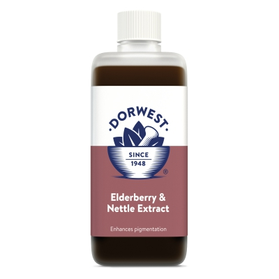Elderberry & Nettle Extract For Dogs And Cats - 250ml