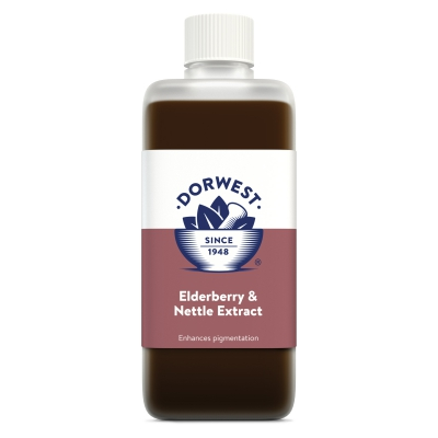 Elderberry & Nettle Extract For Dogs And Cats - 500ml