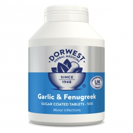 Garlic & Fenugreek Tablets For Dogs And Cats - 500 Tablets