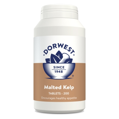 Malted Kelp Tablets For Dogs And Cats - 200 Tablets
