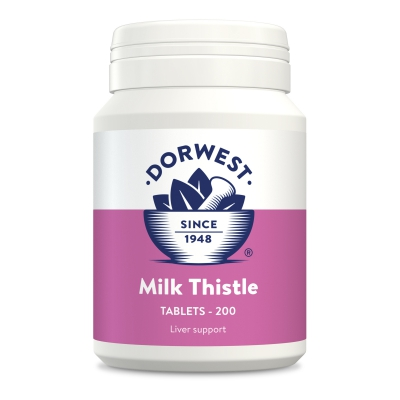 Milk Thistle Tablets For Dogs And Cats - 200 Tablets