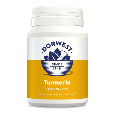 Turmeric Tablets For Dogs And Cats 200 Size