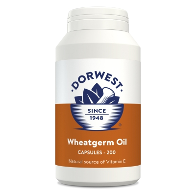 Wheatgerm Oil Capsules For Dogs And Cats - 200 Capsules