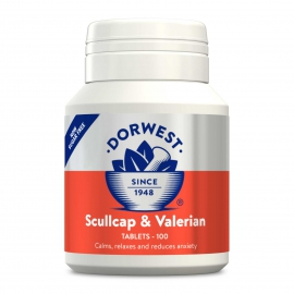 Scullcap & Valerian Tablets For Dogs And Cats