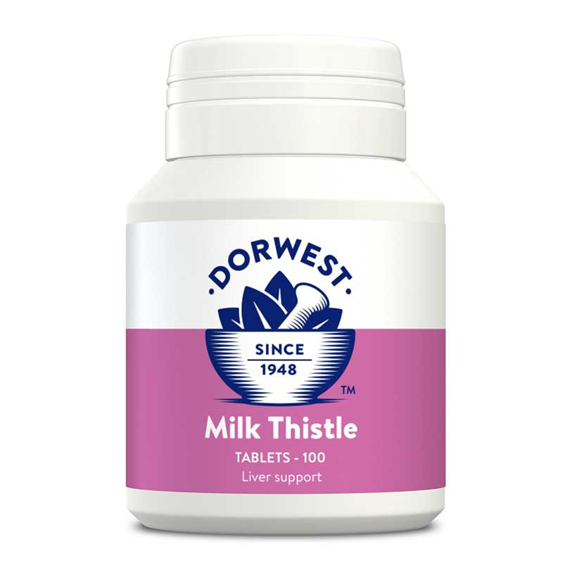 Milk Thistle Tablets For Dogs And Cats